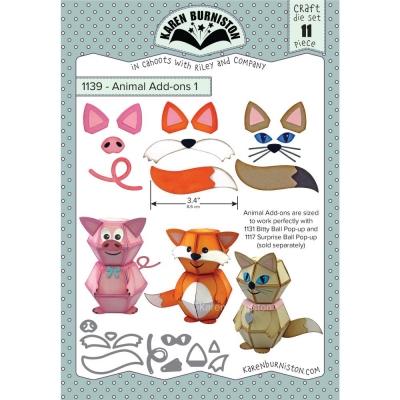 Animal Add-ons #1, Stanze - KB Riley