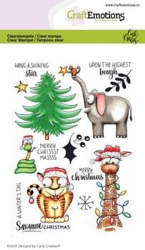 Savanne Christmas, Clearstamp - CraftEmotions
