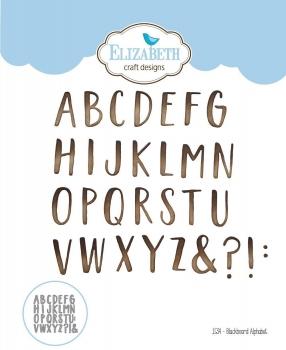 Blackboard Alphabet, Stanze - Elizabeth Craft Design