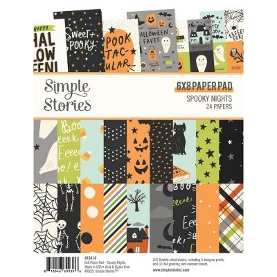 Spooky Nights 6x8 Paperpad - Simple Stories