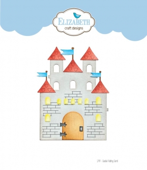 Castle Folding Card, Stanze - Elizabeth Craft Designs