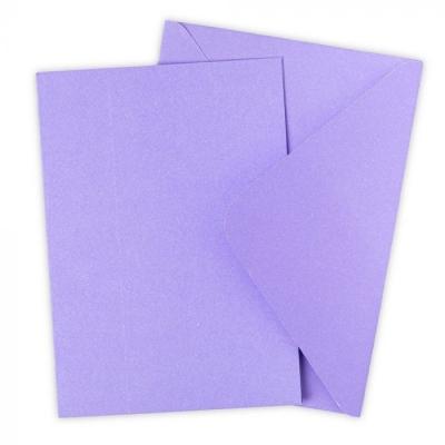 Cards & Envelopes Set, Lavender Dust - Sizzix
