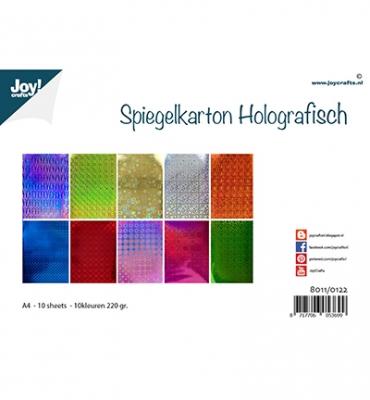 Spiegelkarton Holografisch - Joy!Crafts
