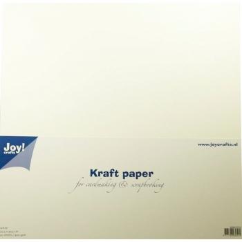 Kraftpapier Weiss - Joy!Crafts