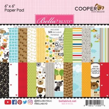Cooper 6x6 Paperpad - Bella BLVD