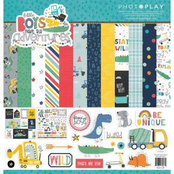 Little Boys Have Big Adventures Collection 12x12 - Photoplay