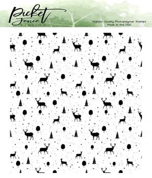 Reindeer Games, Clearstamp – Picket Fence