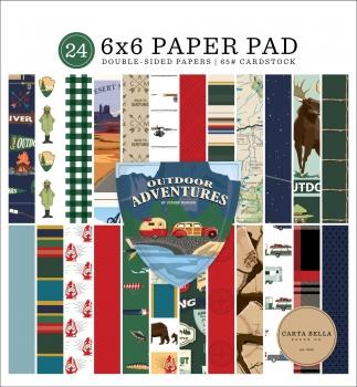 Outdoor Adventures 6x6 Paperpad - Carta Bella