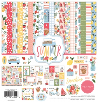 Summer 12x12 Collection Kit - Carta Bella