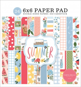 Summer 6x6 Paperpad - Carta Bella