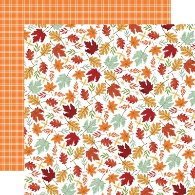 Welcome Autumn, Crisp Leaves, Designpapier - Carta Bella