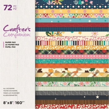 All Occasions 8x8 Paperpad - Crafter's Companion