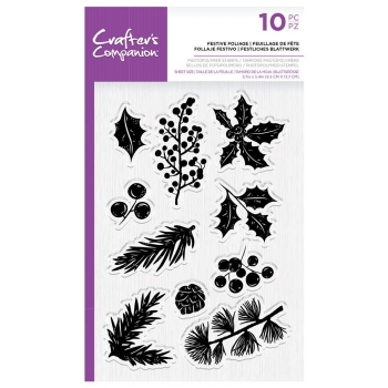 Festive Foliage, Clearstamp - Crafter's Companion