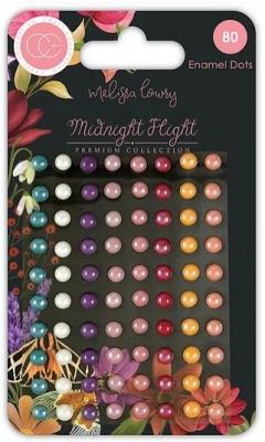 Midnight Flight, Enamel Dots - Craft Consortium