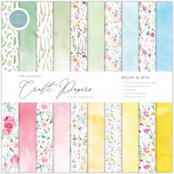 Bloom & Wild 12x12 Paper Pad - Craft Consortium