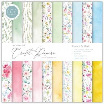 Bloom & Wild 6x6 Paper Pad - Craft Consortium