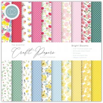 Bright Blooms 6x6 Paper Pad - Craft Consortium
