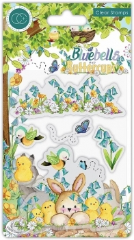 Bluebells and Buttercups, Chicks, Clearstamp - Craft Consortium