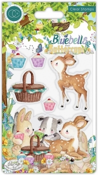 Bluebells and Buttercups, Picnic, Clearstamp - Craft Consortium