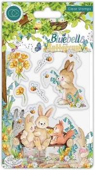 Bluebells and Buttercups, Bench, Clearstamp - Craft Consortium