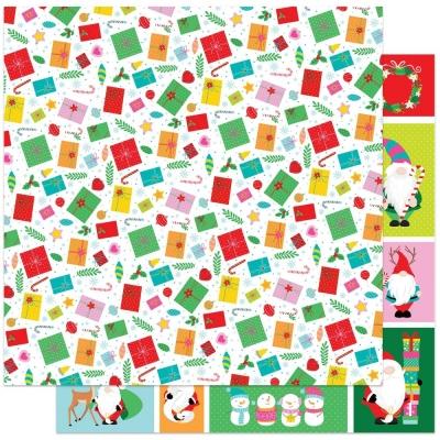 Tulla & Norbert's Christmas Party, No Peeking, Designpapier - Photoplay