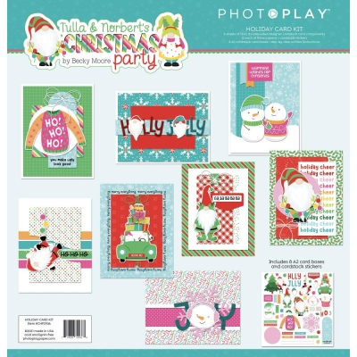 Tulla & Norbert's Christmas Party, Card Kit - Photoplay