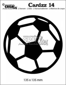 Cardzz #14 Fußball, Stanze - Crealies