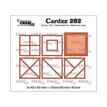 Quadrat Elemente, Stanze - Crealies