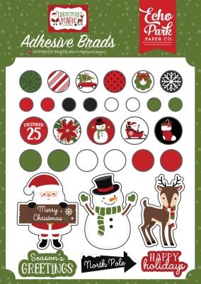 Christmas Magic, Brads - Echo Park