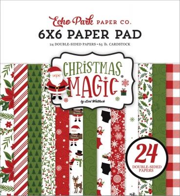 Christmas Magic 6x6 Paper - Echo Park