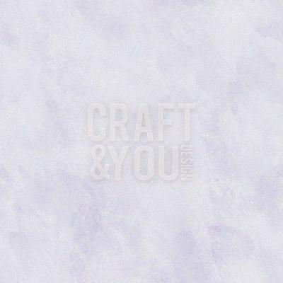 Cardstock marmoriert, Zartviolett - Craft&You
