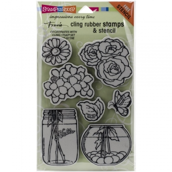 Build A Bouquet, Clingstamp - Stampendous