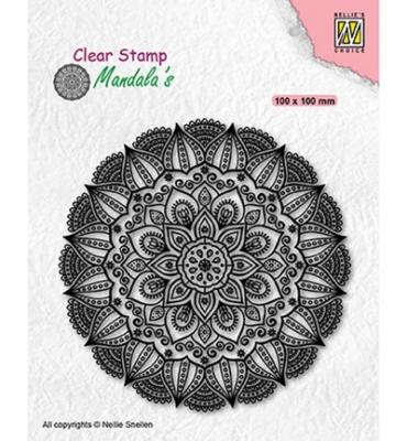 Dahlia Flower, Clearstamp - Nellies Choice
