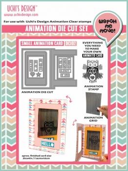 Small Animation Card, Stanze - Uchi's Design