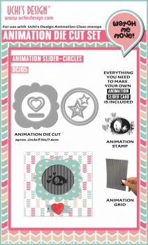 Animation Slider Circles, Stanze - Uchi's Design