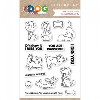 Dog Lover, Clearstamp - Photoplay