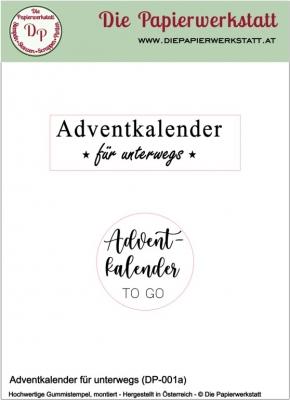 Adventkalender für unterwegs - Stempelset