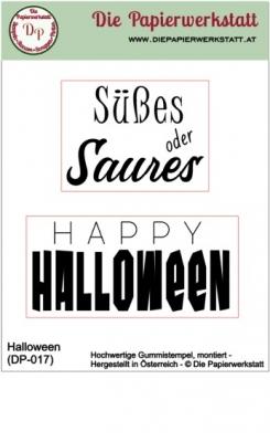 Halloween - Stempelset