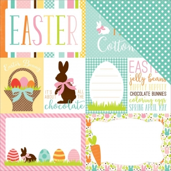 Easter, Journaling Cards, Designpapier - Echo Park
