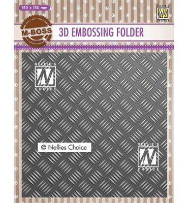 Stripe Pattern #1, Prägeschablone - Nellie's Choice