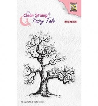 Fairy Tale #16 Elves-Tree, Clearstamp - Nellies Choice