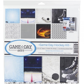 Game Day Hockey Collection Kit 12x12 - Reminisce