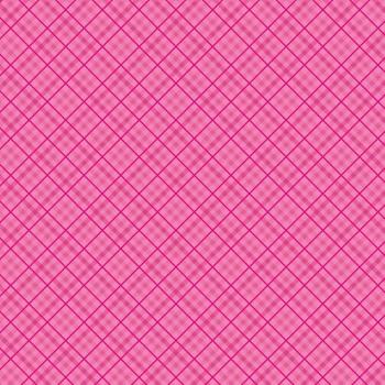 Dark Pink Plaid, Designpapier - Coredinations