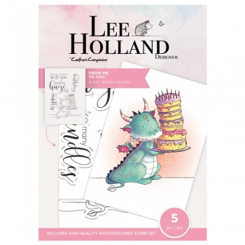 Lee Holland, From Me To You, Clearstamp - Crafter's Companion