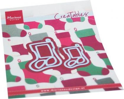 Creatables Christmas Socks, Stanze - Marianne Design
