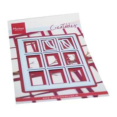 Creatables Verschneites Fenster, Stanze - Marianne Design