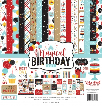 Magical Birthday Boy 12x12 Inch Collection Kit - Echo Park