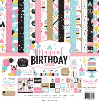 Magical Birthday Girl 12x12 Inch Collection Kit - Echo Park