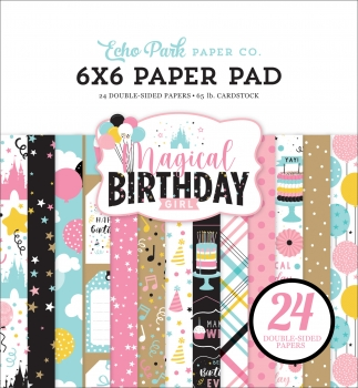 Magical Birthday Girl 6x6 Paperpad - Echo Park
