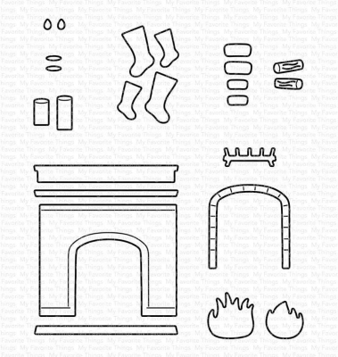 Fireplace, Stanze - My Favorite Things